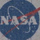 Amazing NASA Mission Patches collection Mosaic w/COA