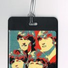 The Beatles Fab Four Luggage or Book Bag Tag