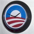 NEW Barack Obama logo Wall Clock FREE SHIPPING