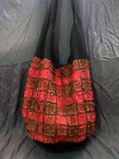 RED/BROWN GYPSY BOHO ETHNIC HIPPIE TRIBAL SHOULDER SLING BAG