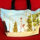 *Sexy Lady Strolling* Art Gym/shoulder/beach shopping tote bag