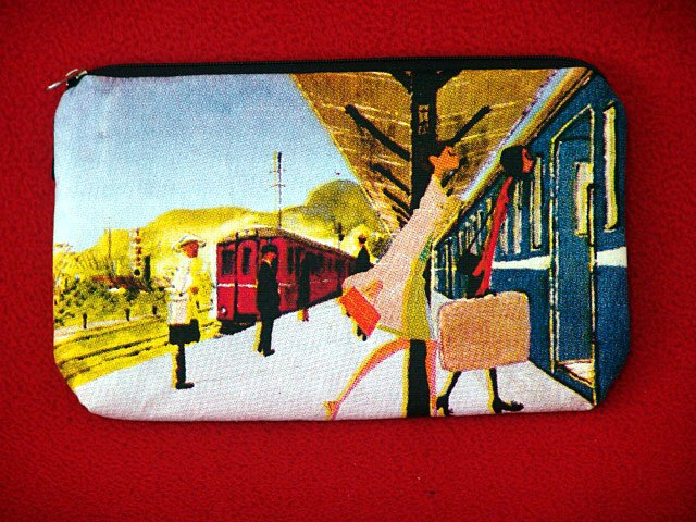 *Travelling lady* Cosmestic/Mobile/Makeup/Ipod Pouch