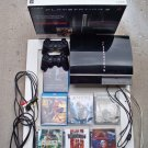 Playstation 3 40GB system with 5 games + MORE