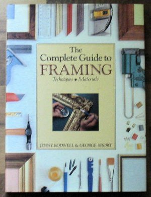 Complete Guide to Picture Framing Making Frames Mats HB New