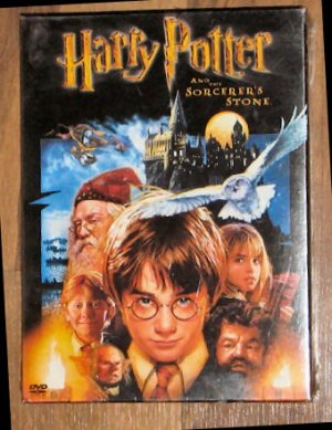 Harry Potter Sorcerer's Stone DVD Two Disc Set MIP
