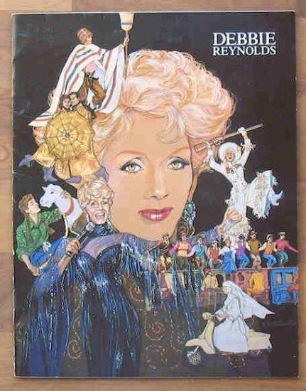 Debbie Reynolds Vegas Star Studio Signed Souvenir Book