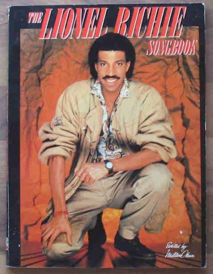 The Lionel Richie Songbook Large Music Book 1984