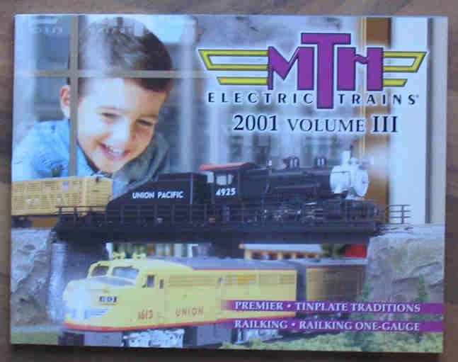 MTH Electric Trains Catalog Book 2001 Volume III