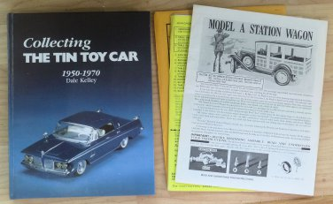 Collecting the Toy Tin Car 1950-70 Dale Kelley Signed Hardback 1984