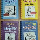 DIARY OF A WIMPY KID Books Dog Days Cabin Fever Rodrick Rules Ugly Truth
