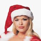 Plush & Velvet Santa Hat