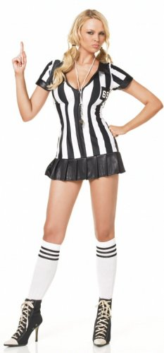 3 Piece Game Official Referee Costume