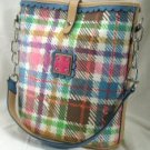 Square Shaped Handbags with Trendy Plaid Design