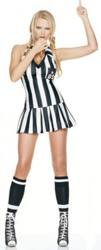 3 Piece Game Referee Costume