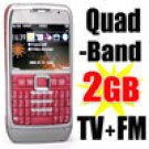Mobile CELL Phone FM quad-Band 2-Sim Stadnby  + 2GB TF