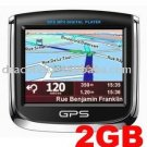 GPS 3509 3.5-inch portable navigation MP3 MP4 Ebook touch 2GB map