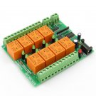 One wire relay card - 8 SPDT channels for Home Automation 12V
