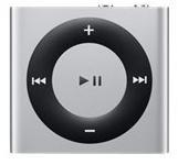 Apple iPod Shuffle 2 GB Silver 4th Generation Latest Model