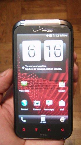 HTC Rezound - 16GB - Black Verizon Smartphone