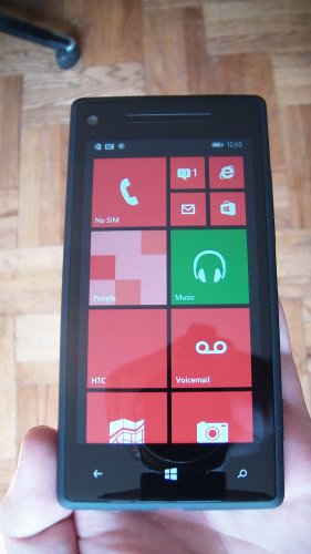 HTC Windows Phone 8X - 16GB - Black Verizon Unlocked Smartphone