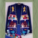 "Cabin View Vest ""Woodsy"" look by Margaret Wilburn New Sm to Ex Lg"