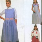 Simplicity pattern #9054 Dress or Jumper & Lined Jacket to decorate Size 22 & 24 UNCUT