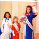 Butterick 5015 MISS AMERICA Collection Girl's Cape, Dress & Gloves Size 4-14