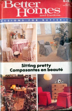Sewing Patterns Chair Covers
