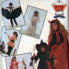 Simplicity 7927 Childrens WITCH PRINCESS PIRATE KNIGHT VAMPIRE Sewing Pattern No Sew Size 2-12 UNCUT