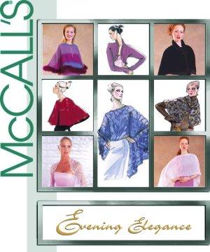 McCalls 3033 Evening Elegance Evening Coverups Caplets Wraps Size XS-L