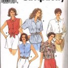 Simplicity 8302 Misses Casual Shirts Size 6-12 UNCUT