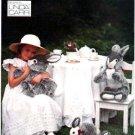 Vogue 8866 OOP Stuffed Bunny Rabbits Pattern Linda Carr UNCUT