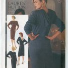 Vintage 80s Simplicity 6701 Lauren Hutton Collection SEXY Low V Back Dress Size 14 UNCUT