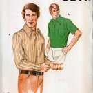 Vintage 70s Kwik Sew 467 Mens Casual Shirt Pattern Chest 36-40 UNCUT