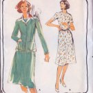 Vintage 80s Butterick 5350 Misses Dress and Jacket Size 16 UNCUT