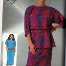 80's Oleg Cassini Dress/Tunic  Simplicity #7368 Pattern Size 20 UNCUT