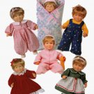 OOP Butterick 5729 14 to 15 and 17 to 18 INCH DOLL CLOTHES Sewing pattern UNCUT