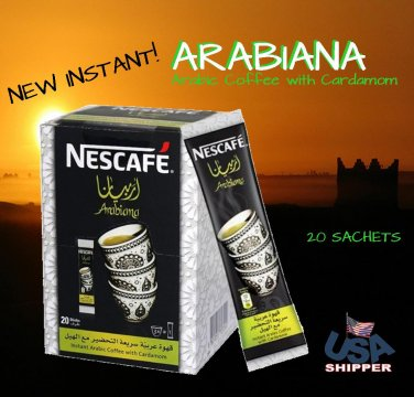 Arabiana Nescafe Arabic Coffee 20 Sticks