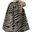 Fun Zebra Pillowcase Dress from 3 Months to 5T