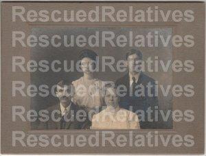 WITT FAMILY, ELMER, 3 Identified photographs, Ft. Scott, Kansas