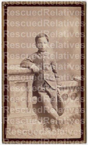 ROSEWATER, CHARLES COLMAN, 2 Identified photographs, OMAHA, NE.