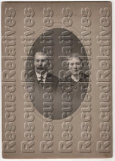 PETERS, GEORGE W., & MARY E., Identified photograph, Mahoning, OH.