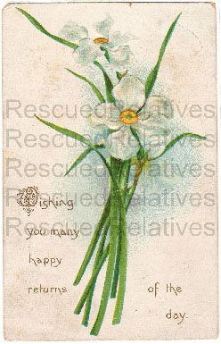 FEHL, . MAY S. RAGAN, Bellevue, Huron Co., OH. id&#039;d postcard