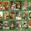 VINTAGE CUTIE PIES collage green Emailed to You