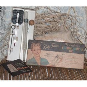 Betty Furness Westinghouse thermometer set - Vintage kitchen