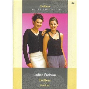 24 page booklet - 8 ladies fashion designs to crochet by Twilleys