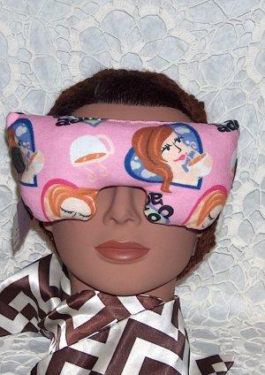 Coffee Addict ! - scented eye mask - eye pillow