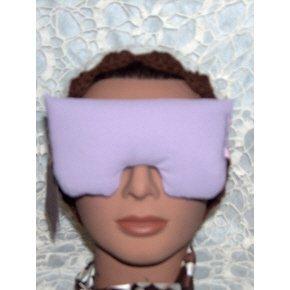 Lavender eye mask/pillow with pretty pink strap