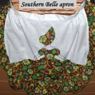 Handmade vintage Southern Belle apron