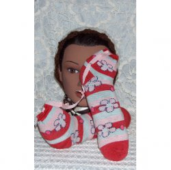 All Natural Shoe Sachet pair with real peppermint - flower power